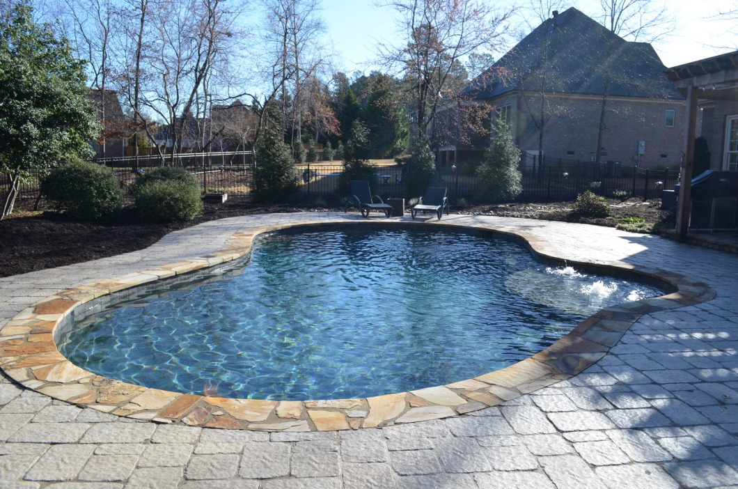 Sensational swimming pools making a splash in today 39 s - Public swimming pools simpsonville sc ...